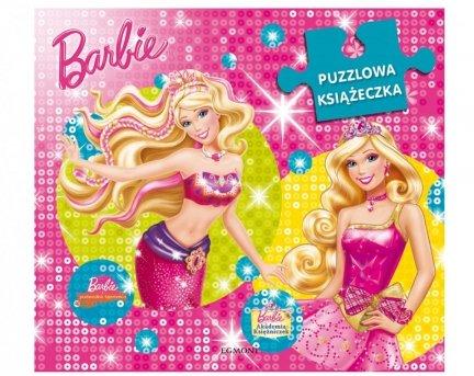 PUZZLOWA KSIĄŻECZKA Barbie 2w1 Puzzle