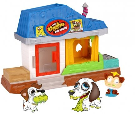 Ugglys PET SHOP Paskudniaki + 10 FIGUREK DOMEK Tm Toys