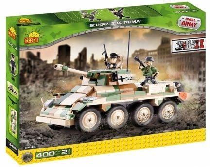 Czołg PUMA Samochód Pancerny SMALL ARMY 2446 Cobi