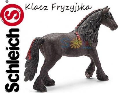 Schleich KOŃ Klacz Fryzyjska KONIE Figurka 13749