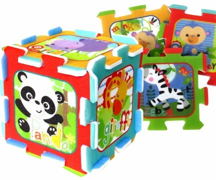 PIANKOWA Mata FISHER PRICE Puzzle Piankowe 32x32