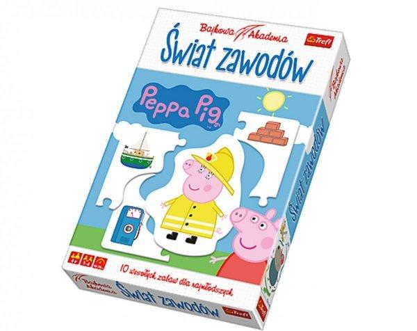 Bajkowa Akademia ŚWIAT ZAWODÓW Świnka Peppa
