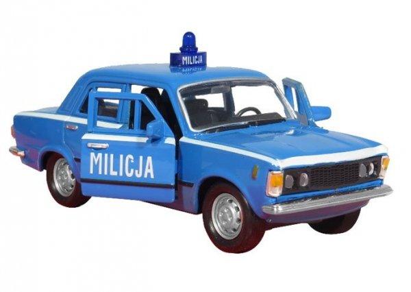 Fiat 125p MO 07 Zgłoś się MILICJA Welly 1:34