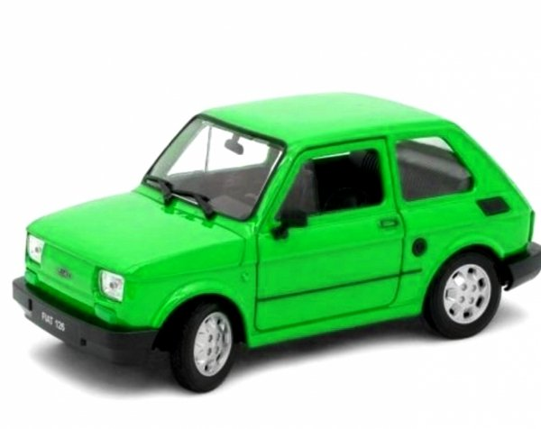 FIAT 126p MALUCH Samochód PRL Auto Welly 1:34