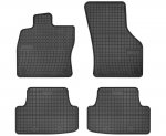 Dywaniki gumowe czarne AUDI A3 8V od 2012 | Seat Leon III od 2013 | Vw Golf VII od 2012