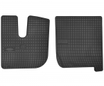 Dywaniki gumowe czarne IVECO Stralis szeroka kabina od 2002