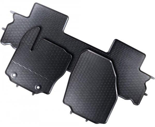 Dywaniki gumowe Ford S-max / Galaxy II 2006-2014 wersja 5-osobowa