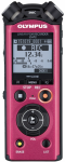 Olympus LS-P2 rejestrator dźwięku czerwony