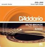 D'Addario EZ900 - 85/15 Bronze 10-50