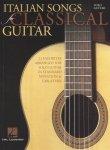 Hal Leonard Italian Songs for Classical Guitar