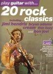 Wise Publications 20 rock classics + akompaniamenty do pobrania