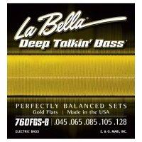 La Bella 760FGSB struny basowe 45-128 szlify złote
