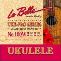 La Bella No100W struny ukulele tenor 4ta owijana