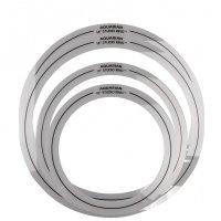 Aquarian SR SET10 Zestaw pierścieni tłumiących do zestawu fusion 10, 12, 14, 14