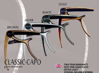 Ever Play Classic Capo Premium Brown kapodaster