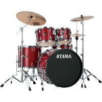 Tama Imperialstar IP52KH6-CPM Candy Apple Mist + Blachy Meinl MCS