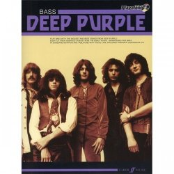 PWM Hal Leonard Deep Purple bass playalong + CD