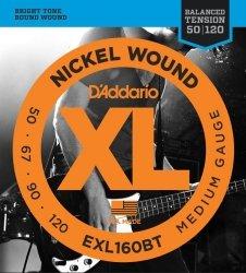 D'Addario EXL160BT struny do gitary basowej