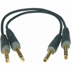 Klotz ABJJ0060 2 szt jack stereo-jack stereo 0.6m