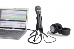Samson Q2U mikrofon dynamiczny z USB + słuchawki