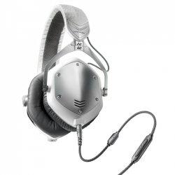 V-Moda Crossfade M100 White Silver słuchawki przewodowe dla DJ