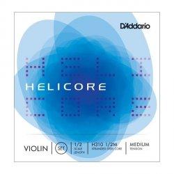 D'Addario H310 1/2 Helicore Medium struny do skrzypiec