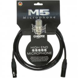 Klotz M5FM03 kabel mikrofonowy 3m xlr-xlr