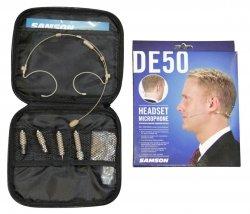 Samson DE50 Nagłowny mikrofon pojemnościowy