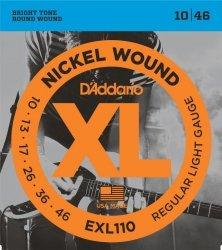 D'Addario EXL110 - XL Nickel Wound 10-46 struny do git elektrycznej