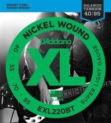 D'Addario EXL220BT struny do gitary basowej