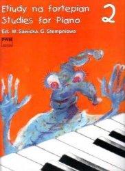 Etiudy na fortepian, z. 2     Wiera Sawicka     Gabriela (ed.) Stempień
