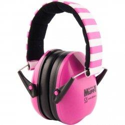 Alpine Muffy pink słuchawki ochronne dla dzieci