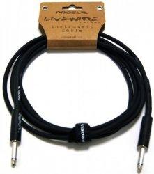Proel LiveWire LIVEW100LU3 - kabel instrumentalny mono jack 3m