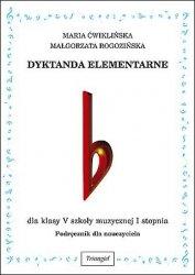 Dyktanda elementarne V, podręcznik dla nauczyciela