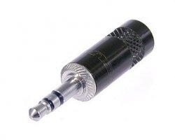 REAN NYS231B wtyk jack 3,5 stereo metalowy