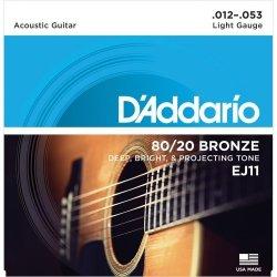 D'Addario EJ11 - 80/20 Bronze 12-53