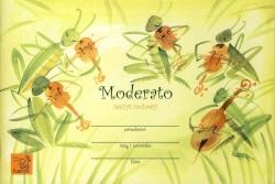 Zeszyt nutowy Moderato dla klasy drugiej