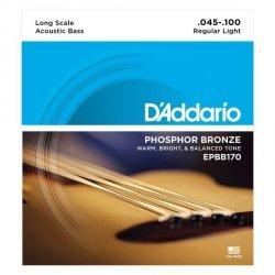 D'Addario EPBB170 struny do basu akustycznego