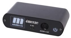 Miditech MIDI 4merge / USB sumator midi