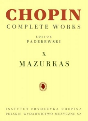 Mazurki, CW na fortepian      Fryderyk Chopin