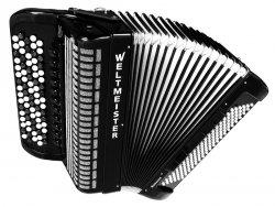 Weltmeister Romance 824 82/120/IV/11/5 akordeon guzikowy biały