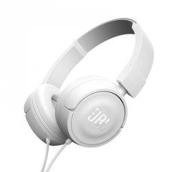 JBL T450 Białe Słuchawki nauszne