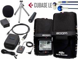 Rejestrator ZOOM H2N + APH2N + 2Gb CUBASE Słuchawki