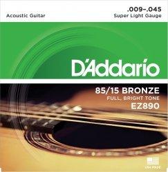 D'Addario EZ890 - 85/15 Bronze 9-45