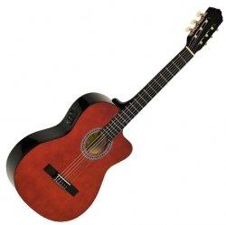 EVER PLAY EV-123 CEQ gitara elektro-klasyczna z Cutaway
