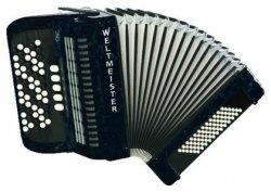 Weltmeister Romance 603 60/72/III/5 akordeon guzikowy czarny