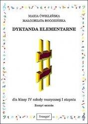 Dyktanda elementarne kl. IV dla ucznia