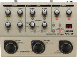 Boss Acoustic Singer VE-8 harmonizer