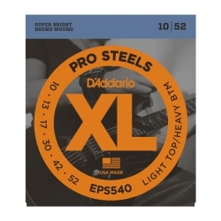 D'Addario EPS540 - ProSteels 10-52