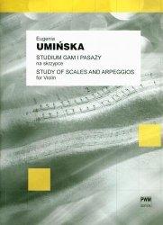 Studium gam i pasaży na skrzypce solo      Eugenia Umińska